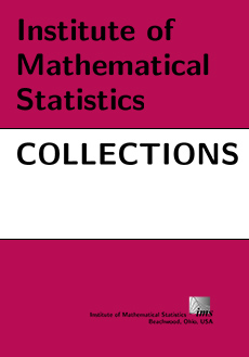 Institute of Mathematical Statistics Collections Logo