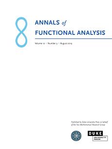 Annals of Functional Analysis Logo