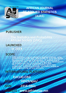 African Journal of Applied Statistics Logo