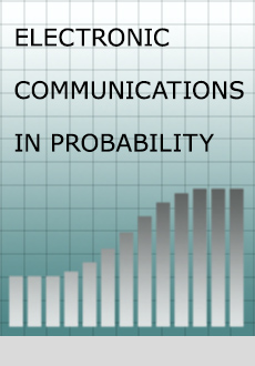 Electronic Communications in Probability Logo