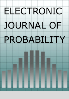 Electronic Journal of Probability Logo