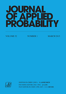 Journal of Applied Probability Logo